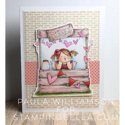 Stamping Bella kumileimasin Kissing Booth Squidgy