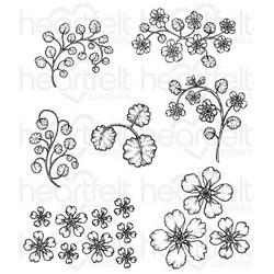 Heartfelt Creations leimasinsetti Wildwood Florals