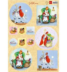 Marianne Design Saint Nicholas -korttikuvat