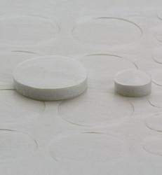 3D-tarratyynyt, pyöreä, 2 mm