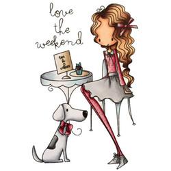 Little Darlings leimasin Love The Weekend