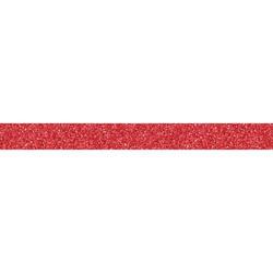 Glitter-teippi, punainen