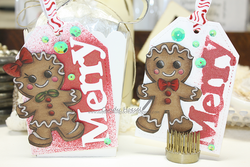Whimsy Stamps Gingerbread Love -leimasinsetti
