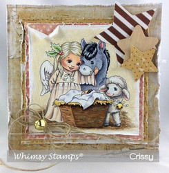 Whimsy Stamps The Infant King -leimasin