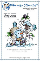 Whimsy Stamps Miss Frosty -leimasin