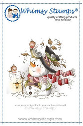 Whimsy Stamps Mr Frosty -leimasin