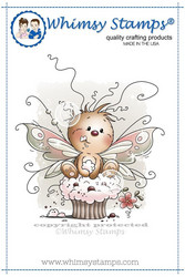 Whimsy Stamps Cupcake Treat -leimasin