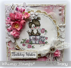 Whimsy Stamps Doggie -leimasin