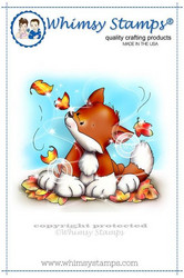 Whimsy Stamps Autumn Fox Kit -leimasin