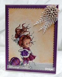 Whimsy Stamps Eleanor -leimasin