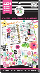 Mambi Happy Planner Value Pack -tarrapakkaus Today Is The Day