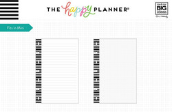 Mambi Mini Happy Planner White Note -paperipakkaus