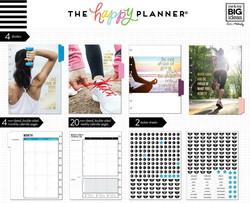 Mambi Happy Planner laajennuspakkaus Fitness