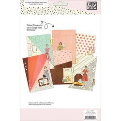 Simple Stories Carpe Diem The Reset Girl Double-Sided A5 Dividers, jakajat