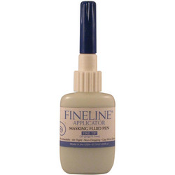 Fineline Precision Applicator - pullo, 0.5 mm + maskineste
