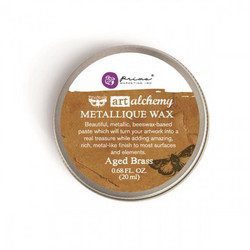 Finnabair Art Alchemy Metallique Wax, sävy Aged Brass