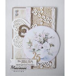 Marianne Design korttikuvat Lilies
