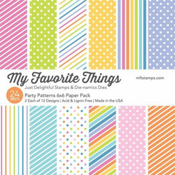 My Favorite Things Party Patterns -paperikko