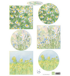 Marianne Design Tiny's flower meadow 1 -korttikuvat