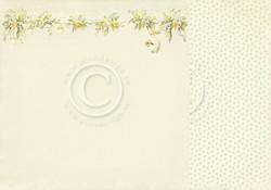 Pion Design Easter Greetings skräppipaperi Daffodil