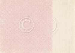 Pion Design Easter Greetings skräppipaperi Pink Ornament