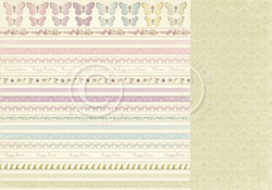 Pion Design Easter Greetings skräppipaperi Borders