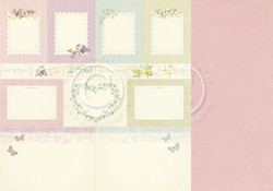 Pion Design Easter Greetings skräppipaperi Memory Notes