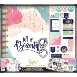 Happy Memory Keeping Big Planner Box Life is Beautiful