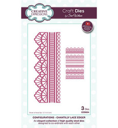 Creative Expressions stanssisetti Chantilly Lace Edger
