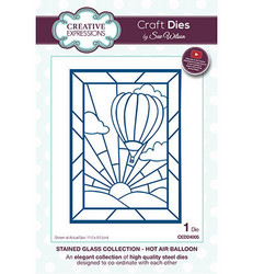 Creative Expressions stanssi Stained Glass Hot Air Balloon