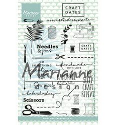Marianne Design Craft dates -leimasinsetti