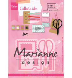 Marianne Design Eline's craft dates stanssisetti