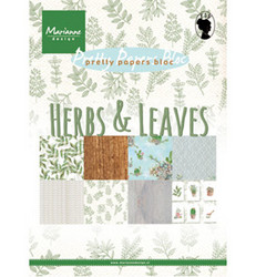 Marianne Design Herbs & Leaves -paperikko