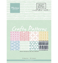 Marianne Design Crafty Patterns -paperikko