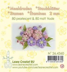 Leane Creatief Heteet, 2 mm. 160 kpl. Sävy nude