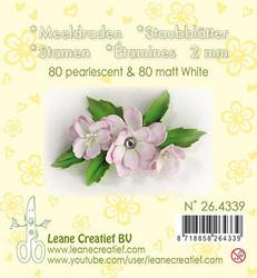 Leane Creatief Heteet, 2 mm. 160 kpl. Sävy valkoinen