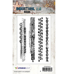 Studio Light Stamps leimasinsetti Industrial 2.0 nr.254
