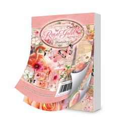 Hunkydory The Little Book of Rose Gold Moments -korttikuvat