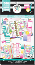 Mambi Happy Planner -tarrapakkaus Productivity