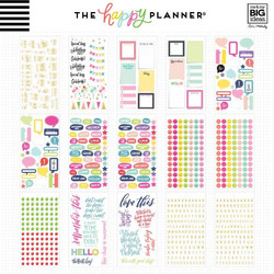 Mambi Happy Planner -tarrapakkaus Seasonal - Teacher