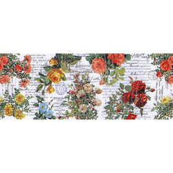 Tim Holtz Idea-Ology Collage paperipakkaus Floral