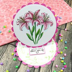 Hunkydory sapluuna Lovely Lilies