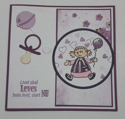 By Lene Dies stanssisetti Pacifier & Rattle