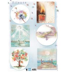 Marianne Design korttikuvat Silence 1
