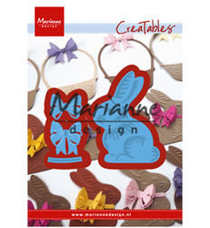 Marianne Design stanssisetti Easter bunny with bow