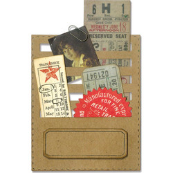 Sizzix Tim Holtz Thinlits Stitched Slots -stanssisetti