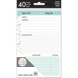 Mambi Happy Mini Planner paperipakkaus, Project