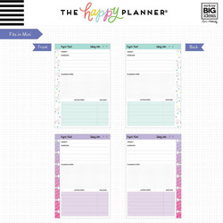 Mambi Happy Mini Planner paperipakkaus, Project
