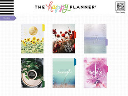 Mambi Happy Planner laajennuspakkaus Wellness