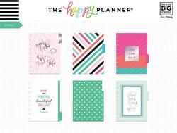 Mambi Happy Planner laajennuspakkaus Your Vibe